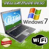 Dell Latitude D630 Laptop - Windows 7 Professional, Intel Core 2 Duo 2.0GHz, 2GB, 80GB, DVDRW,  (Refurbished) at Sears.com