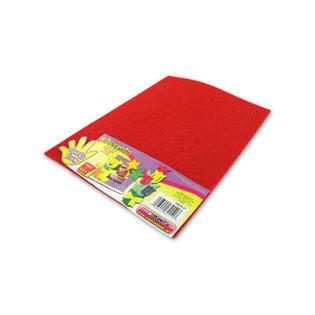 StarSun Depot Wholesale Red Sparkle Foam Craft Sheet - Set of 72, [Crafts, Foam Shapes]