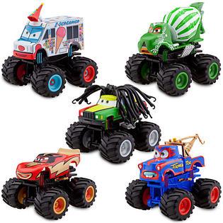 Disney Monster Truck 5 piece Mater Deluxe Figure Set