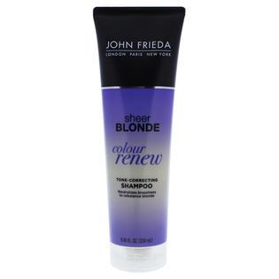 Sheer Blonde Color Renew Tone Correcting Shampoo By John Frieda For Unisex 8 45 Oz Shampoo