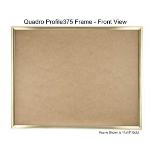 Quadro Frames Gold 10x18 inch Picture Frame - Box of 6