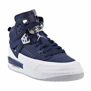new style c03ac 20fb9 Michael Jordan Jordan Spizike BG Big Kid s Shoes Midnight Navy  Metallic  Silver 317321-406 (7 M US)