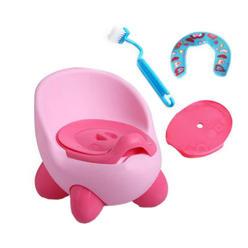 952a7b1b3bf WuKong Paradise Baby Stepstool Toilet Training Seat Creative Potty Traning  + Toilet Brush