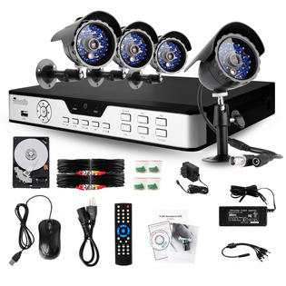 Zmodo Security Surveillance System with 1024GB Hard Drive & 4 Outdoor Cameras & 65ft IR 480TVL Night Vision at Sears.com