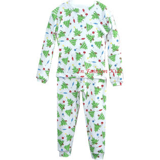 In Fashion Kids Infant Christmas Pajamas - Christmas Trees  SALE at Sears.com