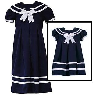 Rare Editions Sailor Dresses for Girls - Navy Sailor Dress  Infant or Girls Size 2T at Sears.com