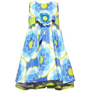Rare Editions Toddler or Girls Easter Dress - Periwinkle and Lime Floral Dress 2T - 6 3T at Sears.com