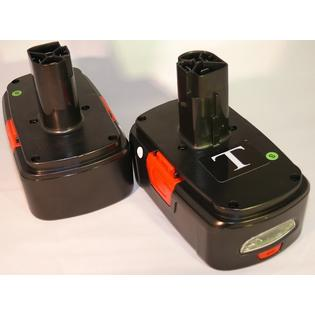Titan REPLACES Titan 2 - New Battery Packs 4 Craftsman XCP 19.2v C3 Lithium-Ion PP2020 Xtreme Core at Sears.com