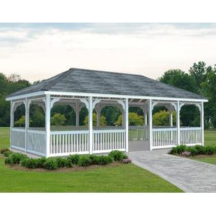Gazebo Creations 12' x 24' Vinyl Rectangular Gazebo at Sears.com