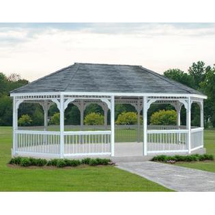 Gazebo Creations 20' x 24' Vinyl Oval Gazebo at Sears.com