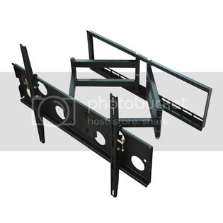 Mount Pros Low Profile Dual Arm Articulating LED LCD Plasma TV Tilt Flat Wall Mount for 32-60 Inch TV at Sears.com