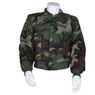 Outdoor Men's M-90 Pilot's Jacket With Liner Small Woodland Camouflage - Outdoor