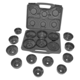 Lisle HD End Cap Wrench Set, 17pc. - LIS61500 at Sears.com