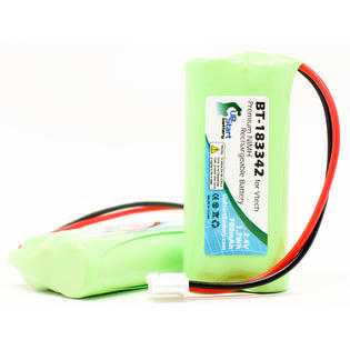 UpStart Battery 2x Pack - AT&T CLP99583 Battery - Replacement for AT&T Cordless Phone Battery (700mAh, 2.4V, NI-MH) at Sears.com
