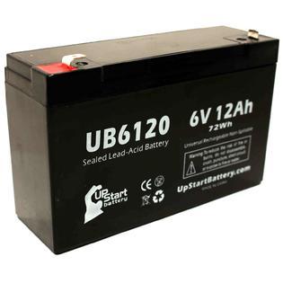 UpStart Battery POWER BATTERY ES106 Battery - Replacement UB6120 Universal SLA Battery (6V, 12Ah, 12000mAh) at Sears.com