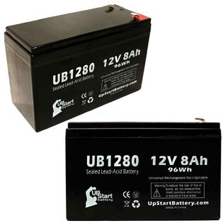 UpStart Battery 2x Pack - Invivo Research Inc 1000 OMEGA BLOOD PRESSURE MONITOR Battery - Replacement UB1280 Universal SLA Battery (12V, 8Ah) at Sears.com