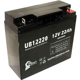 UpStart Battery Access Battery BED Battery - Replacement UB12220 Universal Sealed Lead Acid Battery (12V, 22Ah, 22000mAh, T4 Terminal, AGM, SLA) at Sears.com