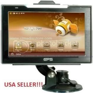 SIMADRE 7 INCH GPS MP4 MP3 FM VIDEO BLUETOOTH 4GB SD CARD at Sears.com