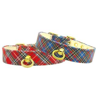 Mirage Pet Supplies Plaid #70 Blue 12 Collar at Sears.com