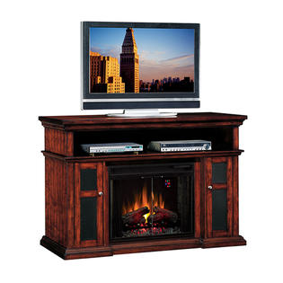 Classic Flame Mantle Pasadena Electric FirePlace Heater Media Center + Insert at Sears.com