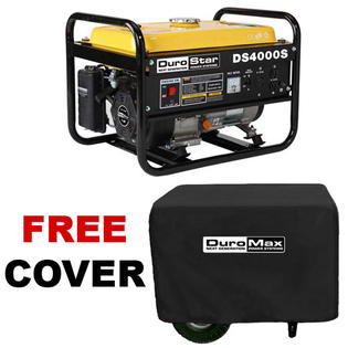 DuroStar DS4000S 4,000 Watt Portable Gas Powered Generator ? Recoil Start with Cover (RV, Camping, Home, Emergency, Standby) at Sears.com