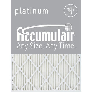 Accumulair 14x36x4 (13.5x35.5x3.75) Accumulair Platinum 4-Inch Filter (MERV 11) (2 Pack) at Sears.com