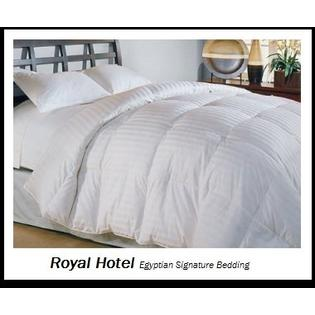 sheetsnthings Royal Hotel Collection Full Size White Goose Down Comforter 300 thread count 650 fill power at Sears.com