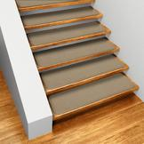 House, Home and More Set of 15 Skid-resistant Carpet Stair Treads - Camel Tan - 8 In. X 27 In. at Sears.com
