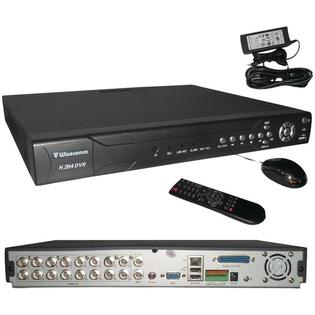 Wisecomm Dv1630 Clover Industrial 16-channel Real Time Internet Ready 500 Gb Dvr at Sears.com