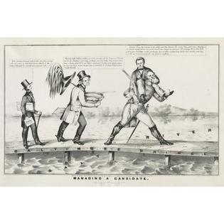 Photo Print 12x18: Managing A Candidate, circa 1852 by ClassicPix.com at Sears.com