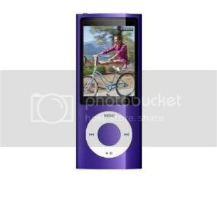 Apple iPod Nano MC034LLA (5th Gen) 8GB  - Purple at Sears.com