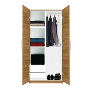 Contempo Space Alta Wardrobe Closet - Half and Half at Sears.com