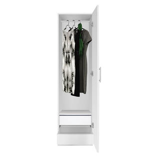 Contempo Space Alta Narrow Wardrobe Closet - Right Door, 2 Interior Drawers at Sears.com