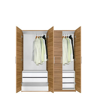 Contempo Space Alta Wardrobe Closet Package - 6 Drawer Wardrobe Package at Sears.com