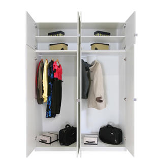 Contempo Space Alta 8 Door Wardrobe Closet Basic Package - Taller at Sears.com
