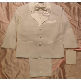 Angel Boy WHITE Tuxedo suit/Christening Baptism/wedding/SIZE 2T/3T/4T OR SIZE 2, 3, 4/#2223 at Sears.com