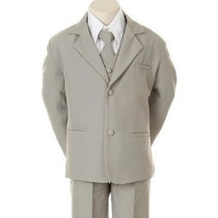 Angels Baby Boy Tuxedo gray Formal suit/Christening Baptism dress/S/M/L/XL/3-6M/6-12M/12-18M/18-24M/SMALL/MEDIUM/LARGE/X LARGE/#BY310gr at Sears.com