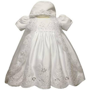 Angel Girl Toddler Christening Baptism Dress Gowns outfit /XS/S/M/L/XL/0-3M/3-6M/6-12M/12-18M/18-24M/XSMALL/SMALL/MEDIUM/LARGE/XL/5422 at Sears.com