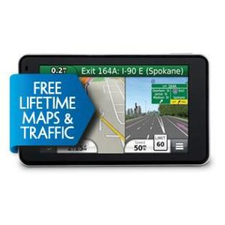 Garmin Nuvi 3490LMT GPS Satnav 4.3-inch screen European maps, Voice activation, Lifetime 3D traffic, Lifetime maps and at Sears.com