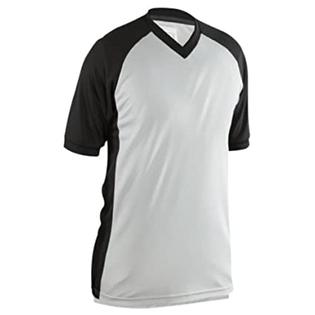 Adams USA Smitty Performance Mesh Side Panel V-Neck Referee Shirt (Gray, Medium) at Sears.com