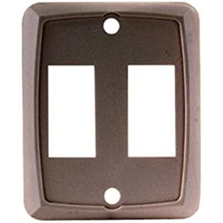 JR Products 12891-5 Brown Double Face Plate - Pack of 5 at Sears.com