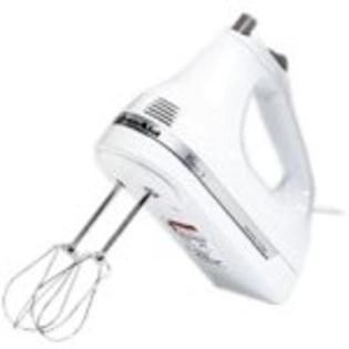 Kitchenaid KHM53WH Classic White 3 Speed Hand Mixer at Sears.com