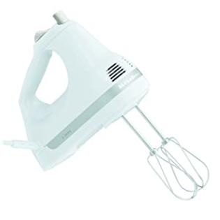 KitchenAid R-KHM5APWH 5-Speed Ultra Power Hand Mixer, White (Refurbished) at Sears.com