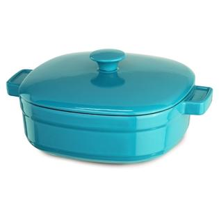 Kitchenaid Cast Iron Streamline Cookware KCLI40CRCC Curacao Blue 4-Qt Casserole at Sears.com