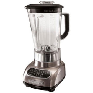 KitchenAid Brushed Nickel Blender R-KSB580NK (Refurbished) at Sears.com
