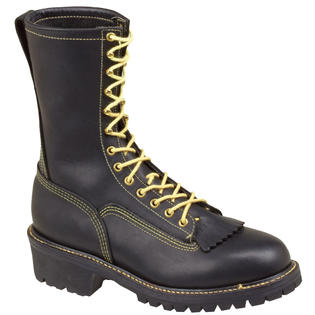 "Thorogood Mens Work Boots Flame Resistant 10"" Thorogood Wildland Black Leather Extra-Wide (EEE) 834-6371 at Sears.com"