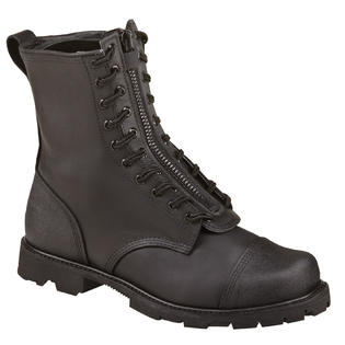 "Thorogood Men's Thorogood 10"" Wildland Fire Boots With Removable Zipper Black Leather Wide (EE) 834-6373 at Sears.com"