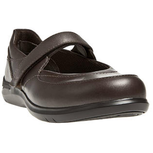 ARAVON Women's Aravon Farah Flats by New Balance Wide W (D) Brown Leather WEF11RB_D at Sears.com