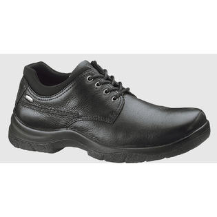 Hush Puppies Men's Hush Puppies Resolve Casual Oxford Shoes Black Leather H11576 Wide (EE) at Sears.com