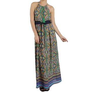 Oliver & James Tabeez Women's Tassle Belted Maxi Dress at Sears.com